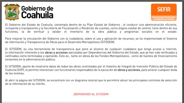 Sitodem Coahuila screenshot 5