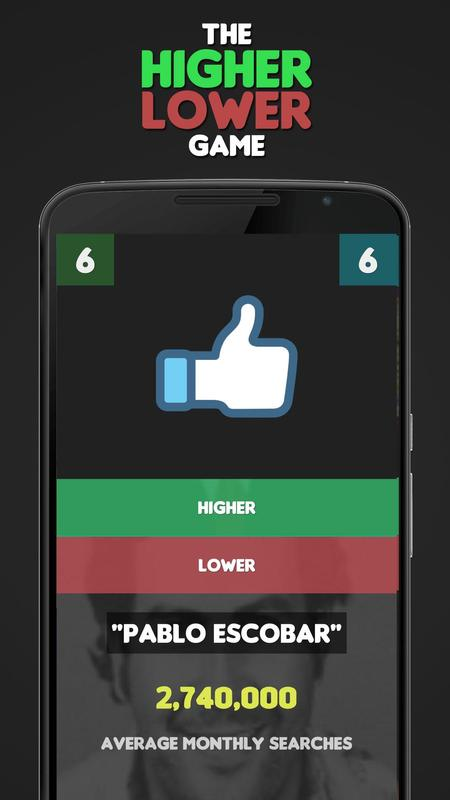 Higher Lower Game: Search APK Download - Free Trivia GAME ...