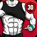 عضلات بطن في 30 يومًا - تمارين عضلات البطن APK