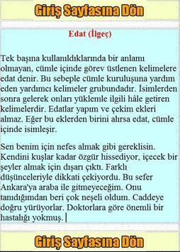 KPSS Türkçe Konu Anlatımı apk screenshot