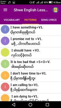 Shwe English Lessons screenshot 2