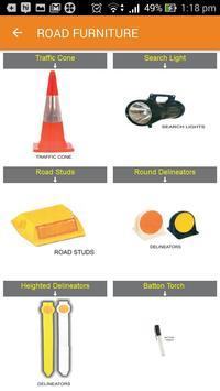 Traffic furnitures & printing screenshot 2