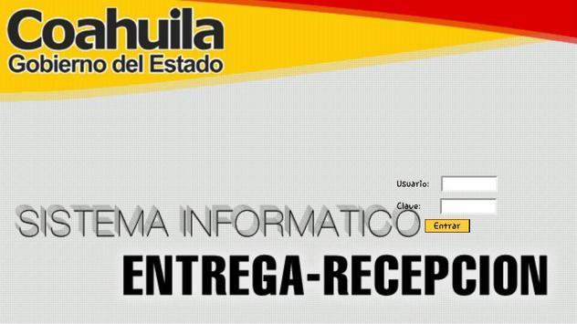Siere Municipal Coahuila MX - Entrega Recepción CM poster