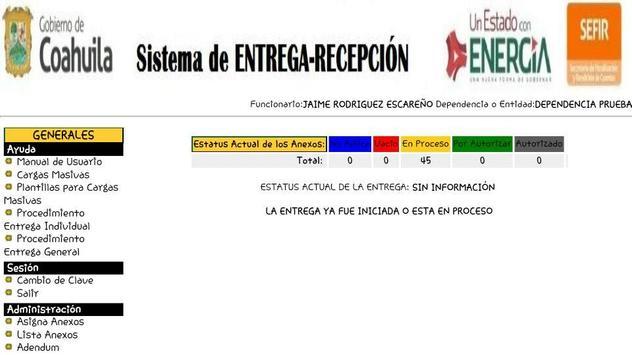 Siere Municipal Coahuila MX - Entrega Recepción CM screenshot 7