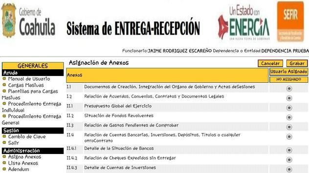 Siere Municipal Coahuila MX - Entrega Recepción CM screenshot 4