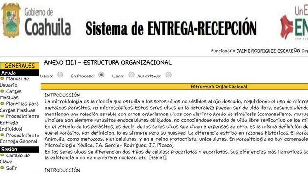 Siere Municipal Coahuila MX - Entrega Recepción CM screenshot 5