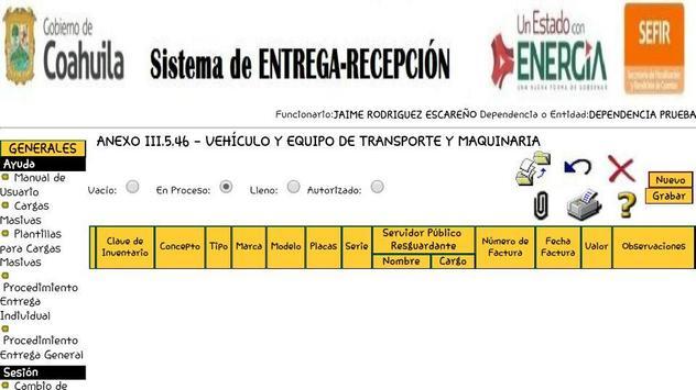Siere Municipal Coahuila MX - Entrega Recepción CM screenshot 6