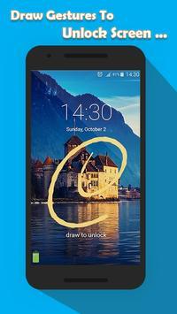 Signature Lock Screen apk screenshot