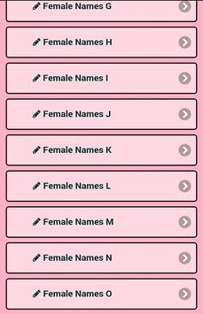 Meaning Female Names screenshot 16