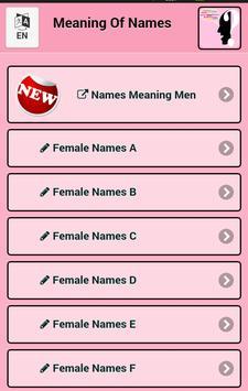 Meaning Female Names screenshot 8