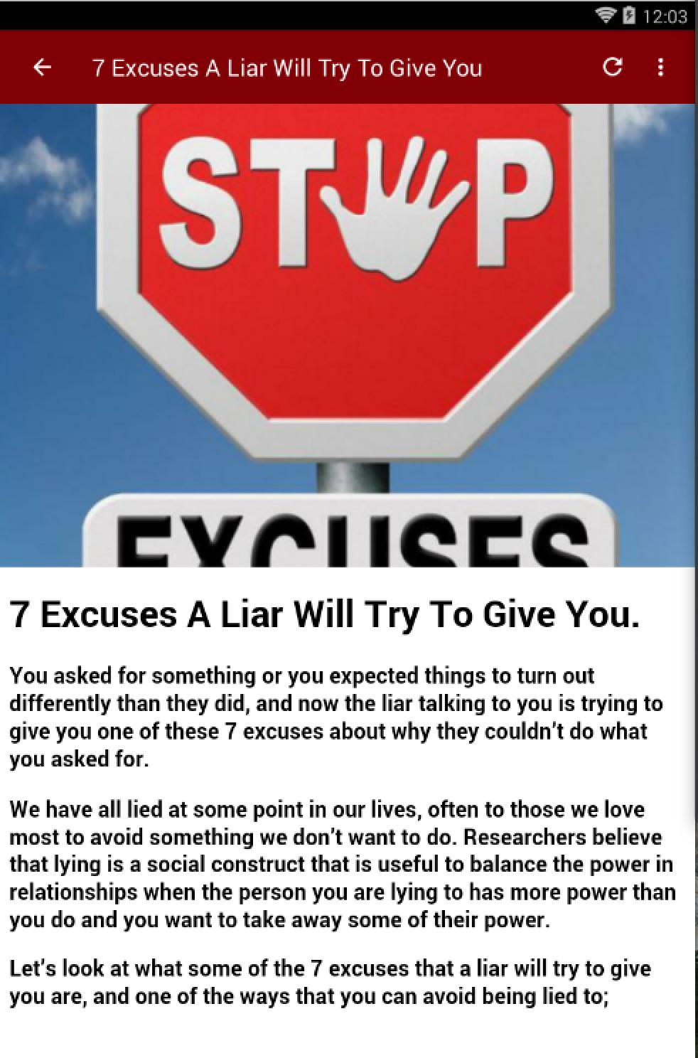 HOW TO TELL IF SOMEONE IS LYING for Android - APK Download