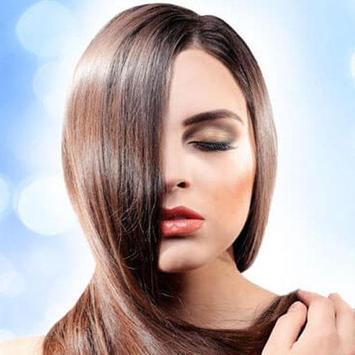 Silky Shiny Hair. Beautiful hair. poster