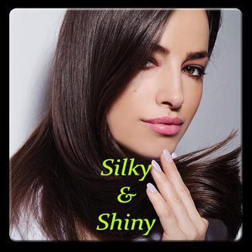 Silky Shiny Hair. Beautiful hair. screenshot 1