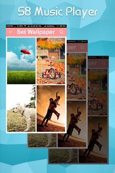 S8 EDGE Style Music Player : MP3 Music Player screenshot 1