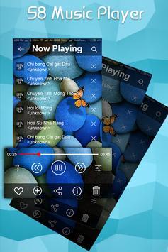 S8 EDGE Style Music Player : MP3 Music Player screenshot 2