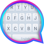 Silver Purity Theme&Emoji Keyboard icon