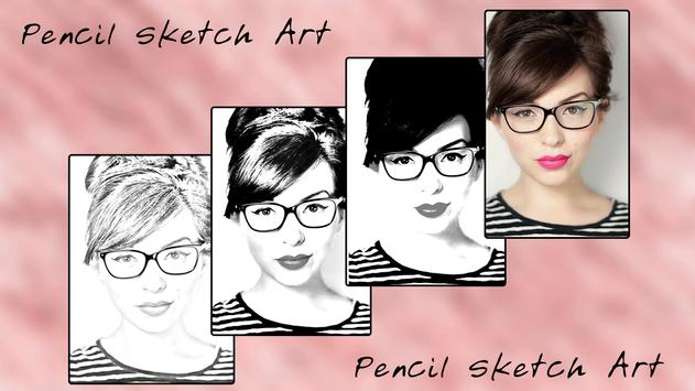 Pencil sketch art photo editor apk screenshot