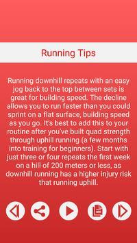 Running Tips screenshot 2