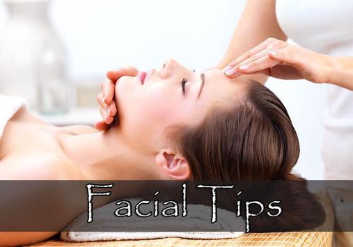 Facial Tips poster