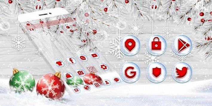 Silver Christmas Wallpaper screenshot 3