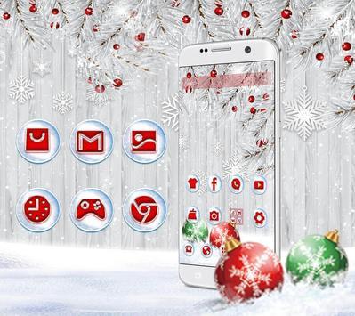 Silver Christmas Wallpaper screenshot 2