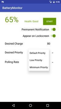 Simple Battery Monitor apk screenshot