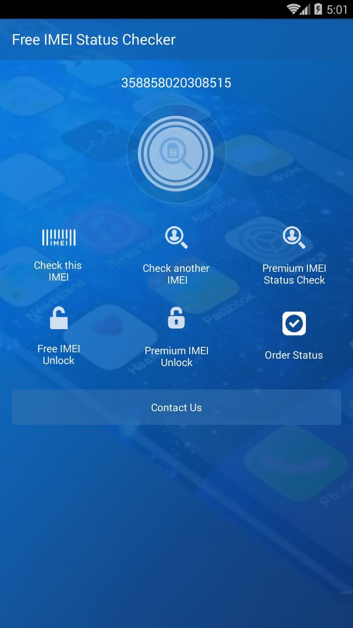 Free IMEI Status Check Report для Андроид - скачать APK