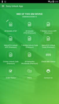 Free Unlock Sony Mobile SIM poster