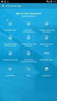 Free Unlock ZTE Mobile SIM poster