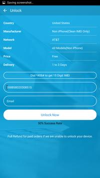 Free Unlock ZTE Mobile SIM screenshot 1