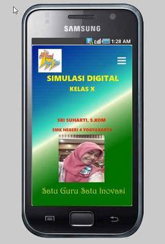 SimulasiDigital Kelas X SMK poster