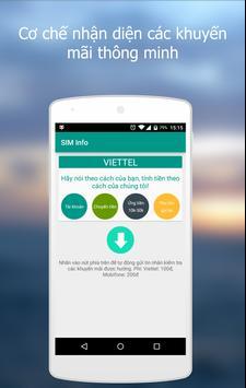 Dịch vụ SIM screenshot 1