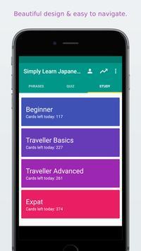 Simply Learn Japanese apk screenshot
