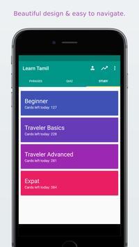 Simply Learn Tamil apk screenshot