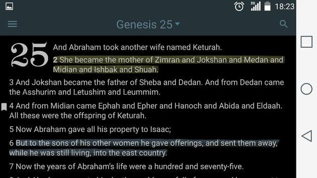Simple English Bible (BBE) with Audio apk screenshot