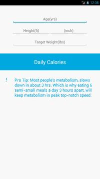Simple Calorie poster