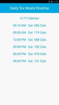 Simple Calorie screenshot 1