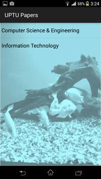 UPTU CS/IT Papers poster
