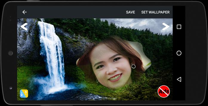 Waterfall Frame Photo Editor poster