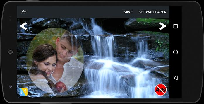 Waterfall Frame Photo Editor screenshot 5