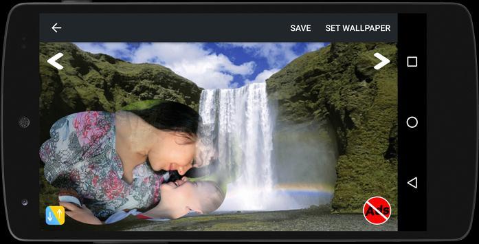 Waterfall Frame Photo Editor screenshot 6