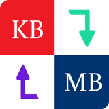 Byte Converter - KB to MB MB to GB or GB to KB