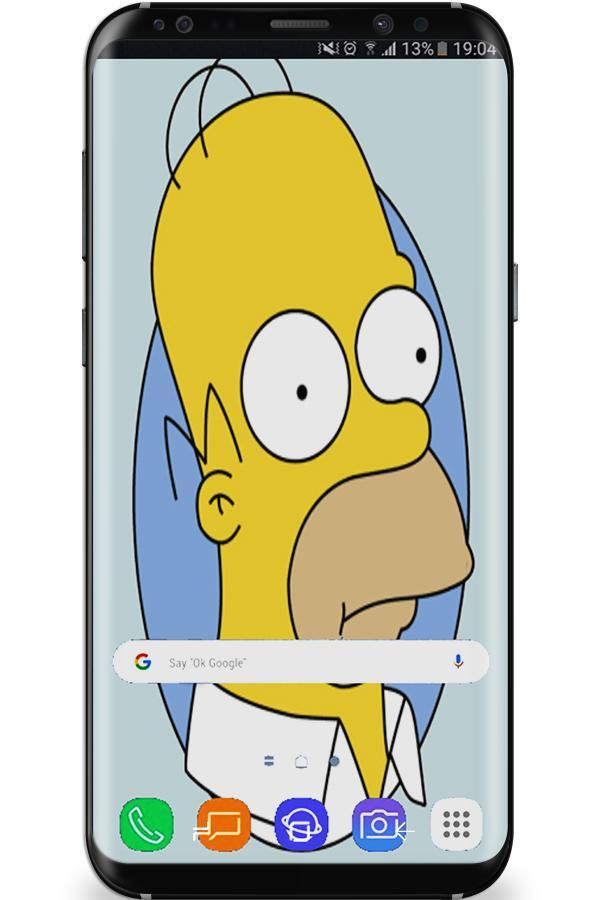 Homer Simpson' wallpaper HD+ poster