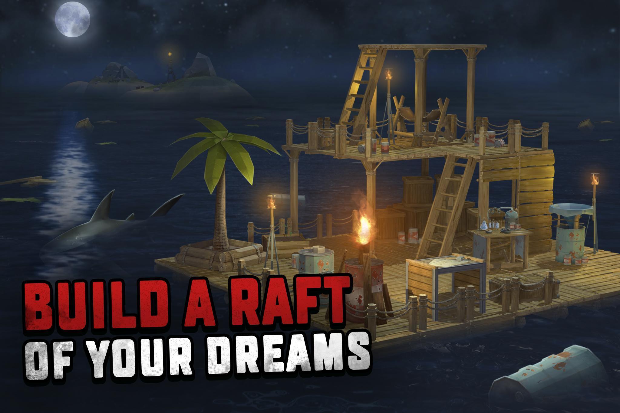 Resultado de imagen para Ocean Nomad - Survival on Raft android