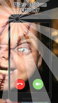 Video Call Chucky Doll screenshot 1