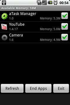 aTask Manager apk screenshot