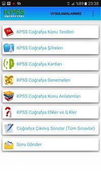 KPSS Coğrafyacı screenshot 1