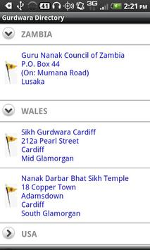 Gurdwara Directory screenshot 2