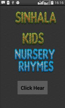 Nursery Rhymes  for  Sri lanka,Australia poster