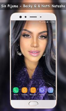 Sin Pijama - Natti Natasha , Becky G Wallpaper screenshot 6